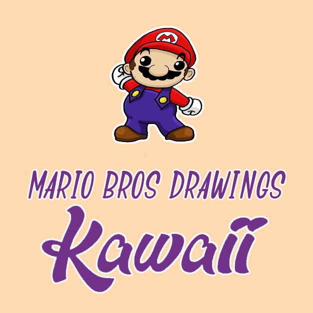 kawaii mario bros drawings