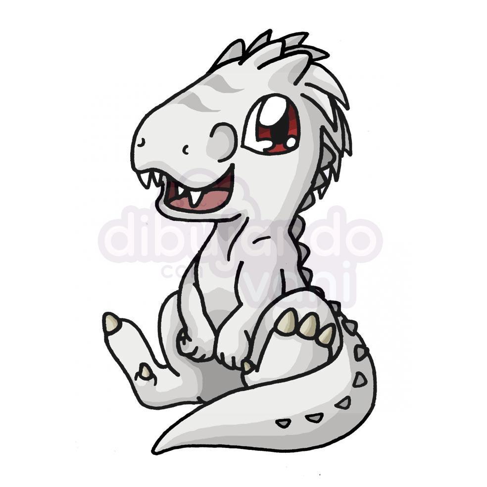 Indominus Rex Kawaii Dibujando Con Vani Tanto si eres fan de este tipo de dibujos como. indominus rex kawaii dibujando con vani