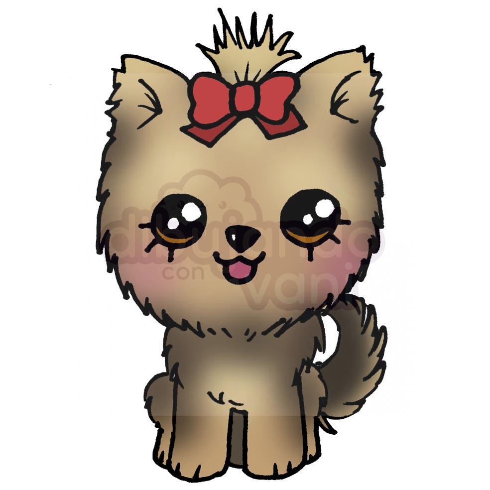 Galeria de perros kawaii - Animales kawaii - Dibujando con