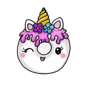 dona unicornio kawaii