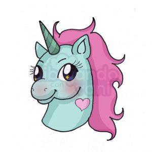 pony head kawaii