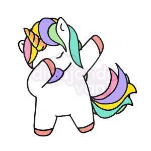 unicornio dab kawaii