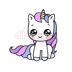 unicornio dulce kawaii