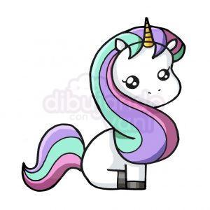 unicornio simbolo $ kawaii