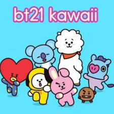 Como dibujar bt21 kawaii