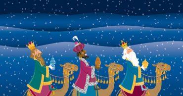 Como dibujar Reyes Magos kawaii