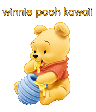 How to draw Winnie Pooh kawaii