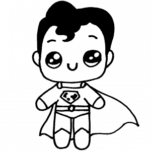 superman kawaii