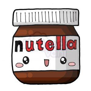 nutella kawaii