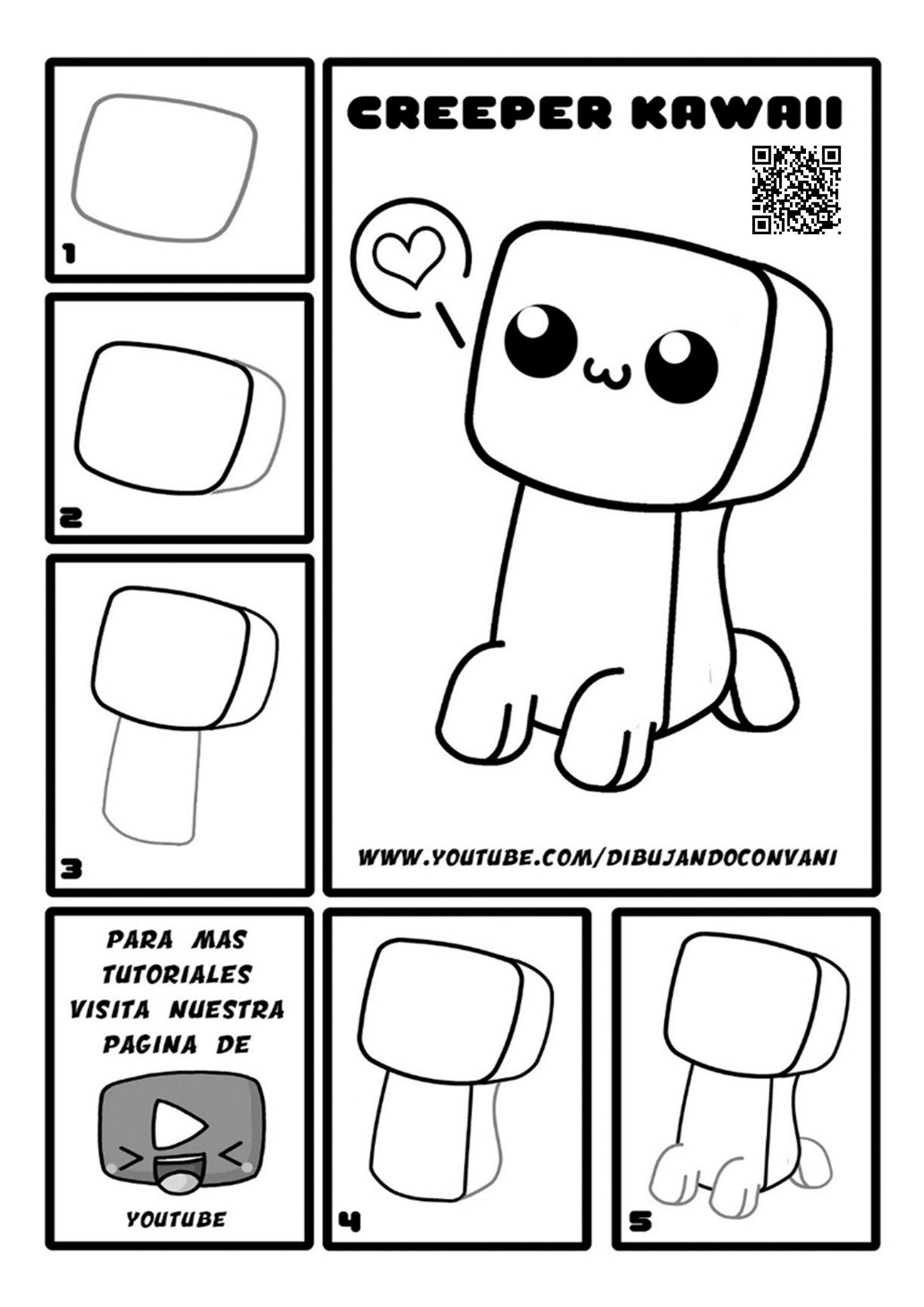 Como dibujar paso a paso kawaii - Dibujos faciles ...