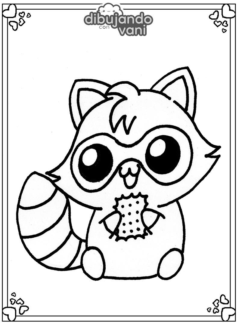 Dibujos de animales del bosque para imprimir - Dibujando ...