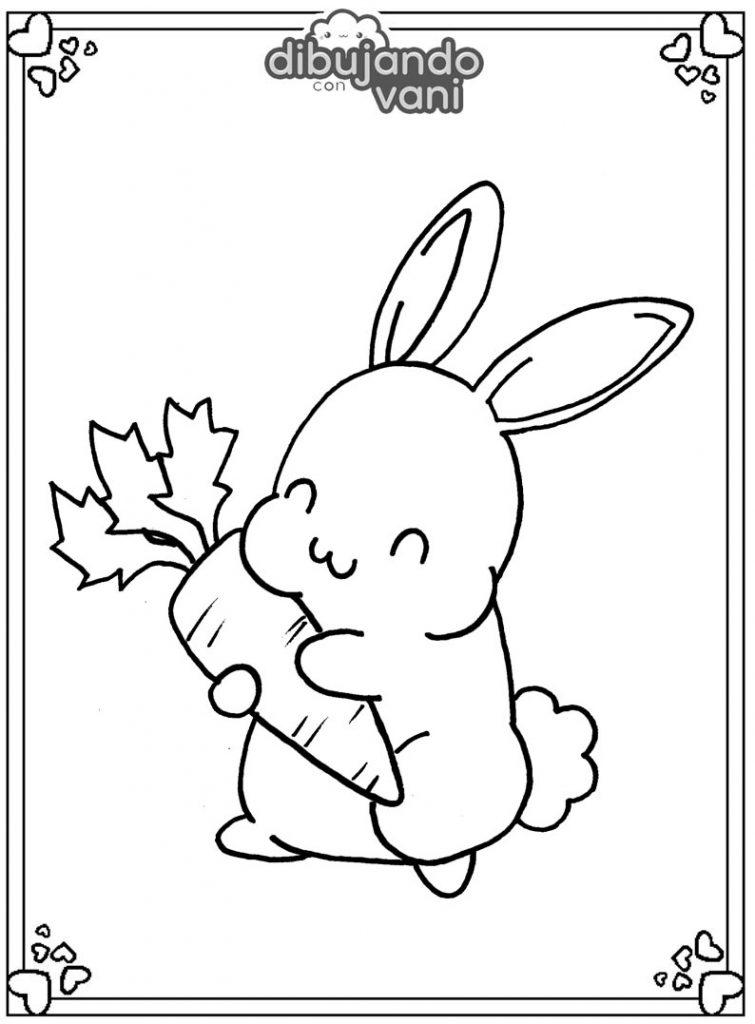 Dibujo De Conejo Con Zanahoria Kawaii Para Imprimir Es muy útil para eliminar los cólicos y disipa los gases ayuda a quienes padecen de estreñimiento y tienen dolor de estómago a causa de una intoxicación. conejo con zanahoria kawaii para imprimir