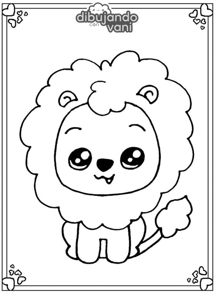 leon para imprimir