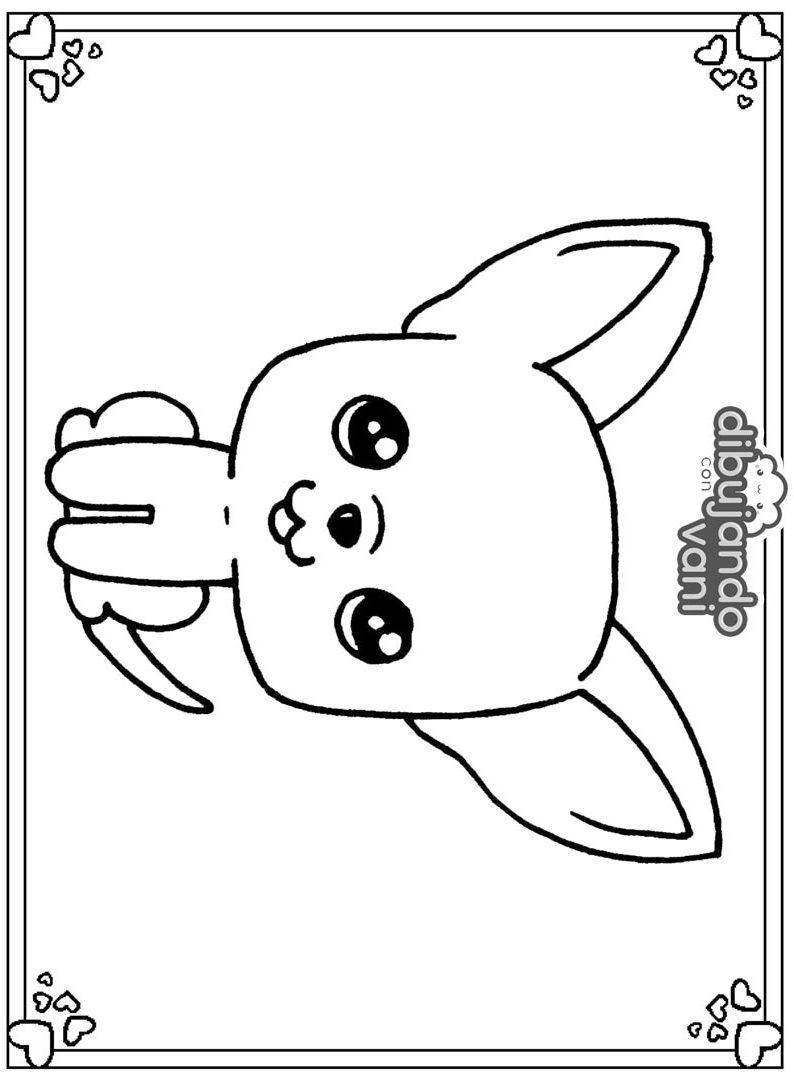 perro chihuahua para imprimir - Dibujando con Vani