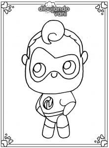 Dibujos de Disney kawaii para imprimir - Dibujando con Vani