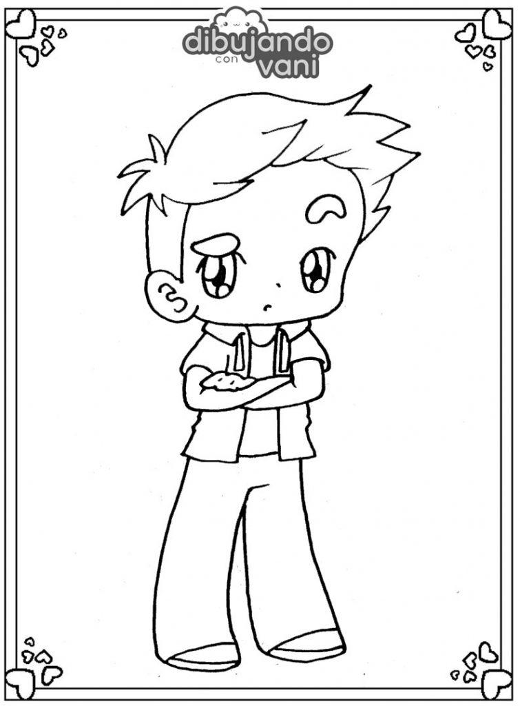 Dibujo de Foxy de Fnafhs para imprimir y colorear ...