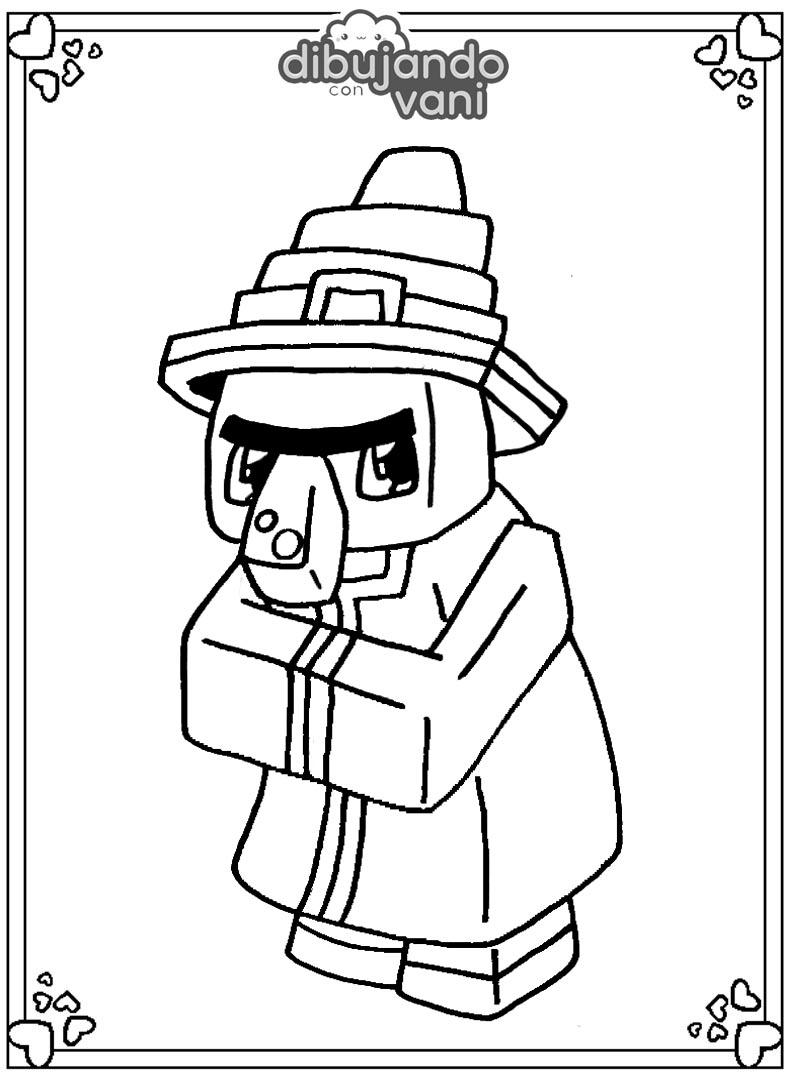 Dibujos de Minecraft para imprimir y colorear - Dibujando ...