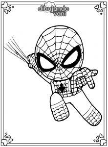 spiderman para imprimir