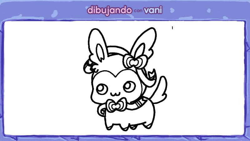 menu sylveon de pokemon para colorear