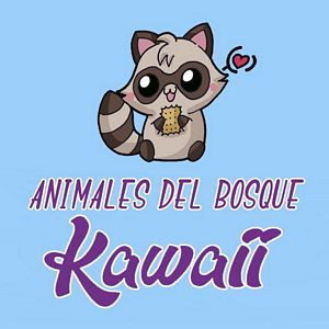 menu animales del bosque kawaii