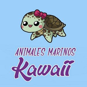 menu animales marinos kawaii