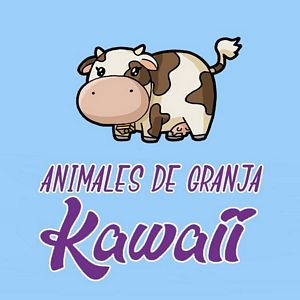 menu animalesde granja kawaii
