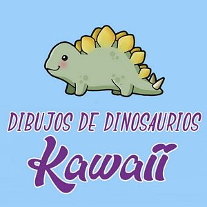 menu dinosaurios kawaii