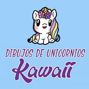 menu unicornios kawaii