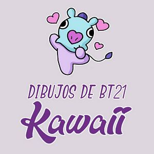 menu dibujos bt21 kawaii