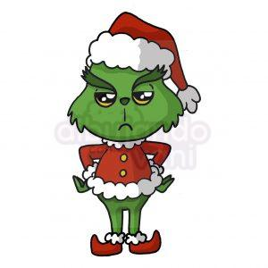 grinch kawaii