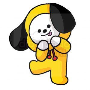 chimmy de bt21 kawaii