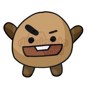 shooky de bt21 kawaii