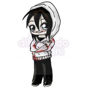 jeff the killer creepypasta kawaii