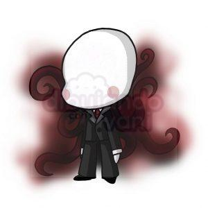 slenderman creepypasta kawaii