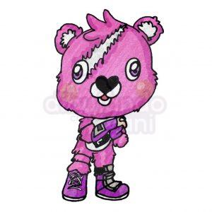 oso de fortnite kawaii