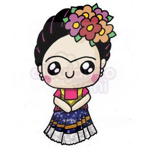 frida kahlo kawaii