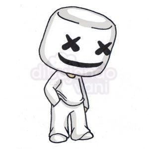 marshmello kawaii