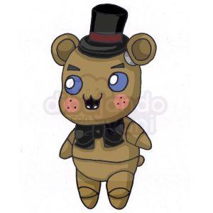 freddy de fnaf kawaii