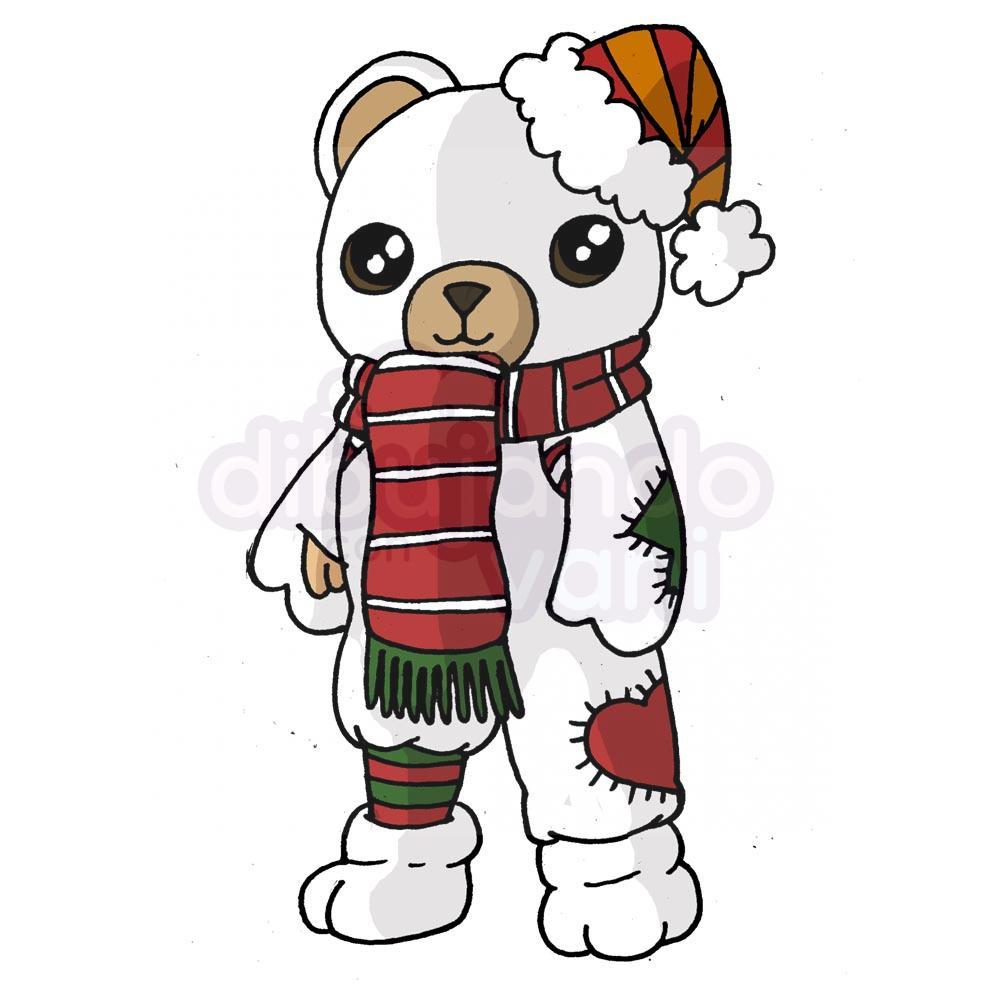 oso-polar-free-fire-kawaii - Dibujando con Vani