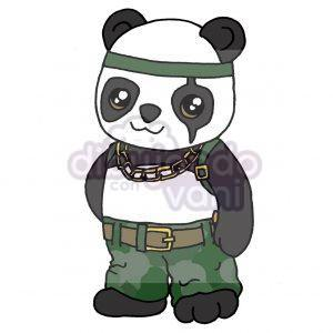 panda de free fire kawaii