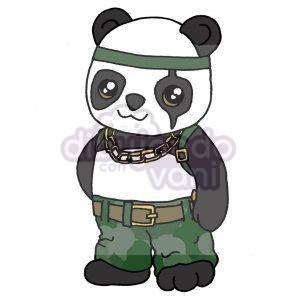 panda de free fire kawaii