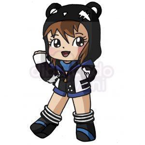 panda loli de free fire kawaii