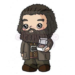 hagrid de harry potter kawaii