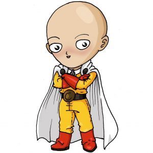 personajes-kawaii - one-punch-man-kawaii