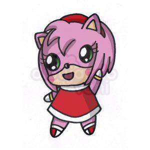 amy rose kawaii