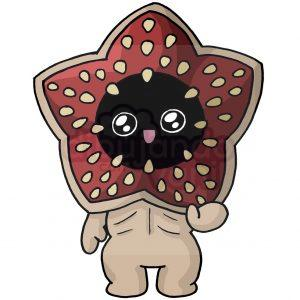demogorgon de stranger things kawaii