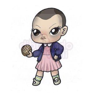 eleven de stranger things kawaii