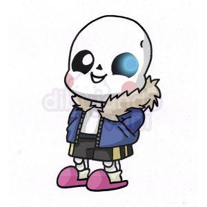 sans de undertale kawaii